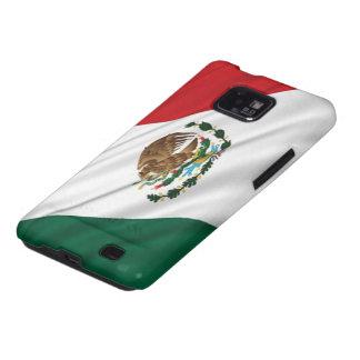 Bandera de México Galaxy S2 Fundas