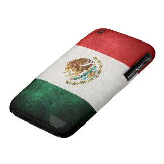Bandera de México iPhone 3 Case-Mate Cárcasas