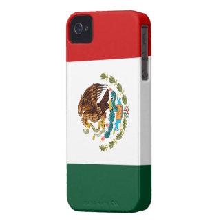Bandera de México Case-Mate iPhone 4 Carcasas