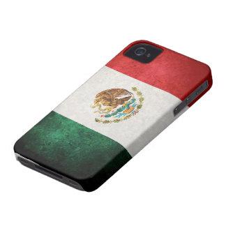 Bandera de México Case-Mate iPhone 4 Carcasa