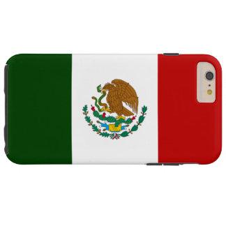 Bandera de México Funda De iPhone 6 Plus Tough