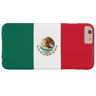 Bandera de México Funda Para iPhone 6 Plus Barely There