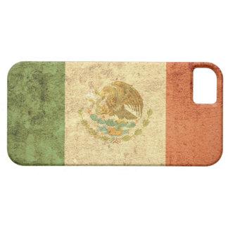 Bandera de México - Grunge iPhone 5 Carcasas