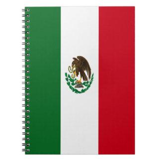 Bandera de México Libreta Espiral