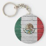 Bandera de México Llaveros