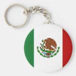 Bandera de México Llaveros Personalizados