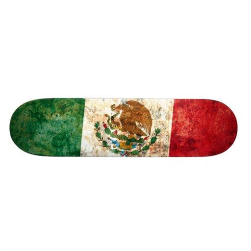 Bandera de México Monopatines Personalizados