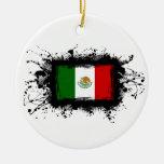 Bandera de México Ornamentos De Reyes Magos