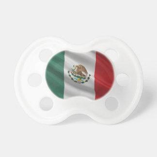 Bandera de México Chupetes De Bebe