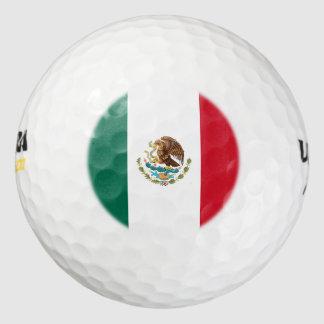 Bandera de México Pack De Pelotas De Golf