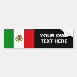 Bandera de México Pegatina De Parachoque