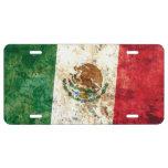 Bandera de México Placa De Matrícula