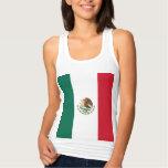 Bandera de México Playera Con Tirantes