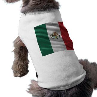 Bandera de México Playera Sin Mangas Para Perro