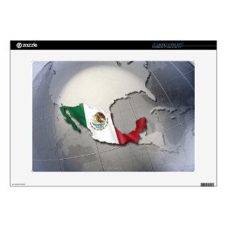 Bandera de México Portátil Skins