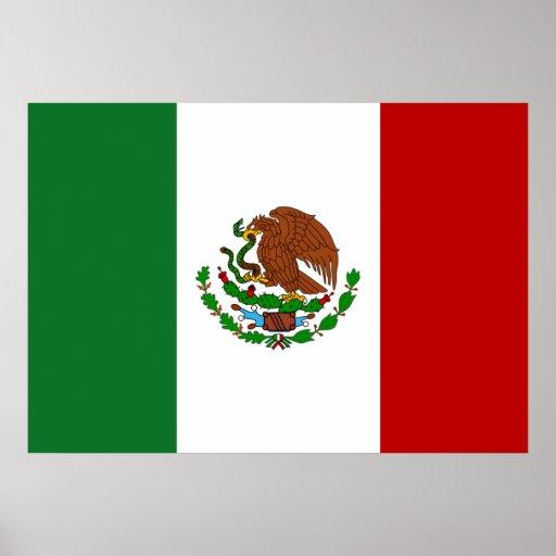 Bandera de México Póster