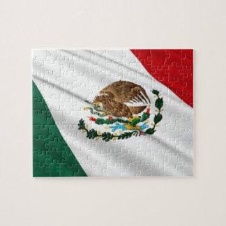 Bandera de México Puzzle Con Fotos