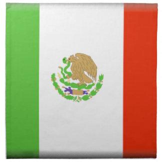 Bandera de México Servilleta De Papel