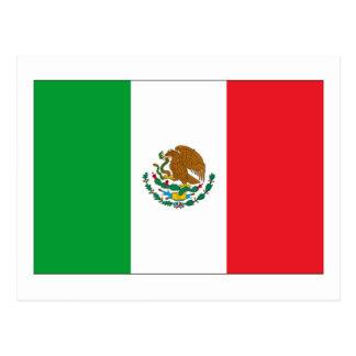 Bandera de México Tarjeta Postal