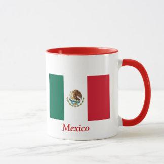 Bandera de México Taza