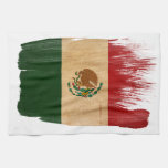 Bandera de México Toalla De Cocina