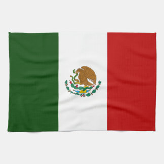 Bandera de México Toalla De Mano