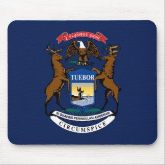 Bandera de Michigan Alfombrilla De Raton