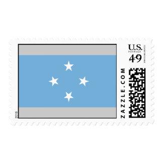 Bandera de Micronesia Estampillas