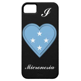 Bandera de Micronesia iPhone 5 Case-Mate Protector