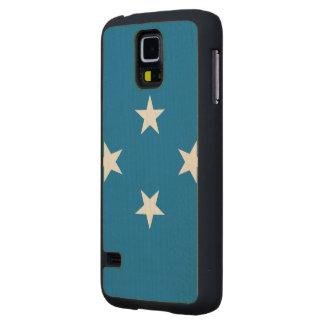 Bandera de Micronesia Funda De Galaxy S5 Slim Arce