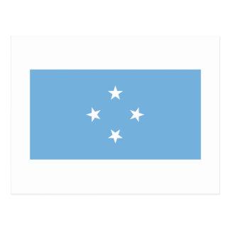 Bandera de Micronesia Postales