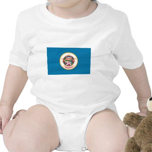 Bandera de Minnesota Camiseta
