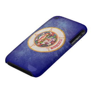 Bandera de Minnesota Case-Mate iPhone 3 Protector
