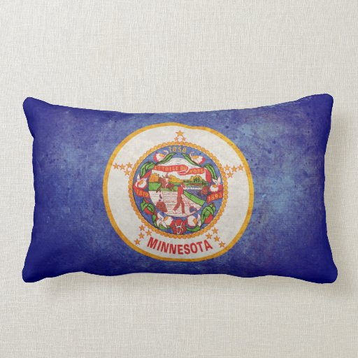 Bandera de Minnesota Almohada