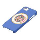 Bandera de Minnesota iPhone 5 Case-Mate Protectores