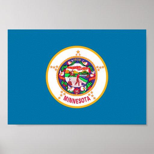 Bandera de Minnesota Impresiones