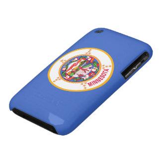 Bandera de Minnesota iPhone 3 Case-Mate Fundas