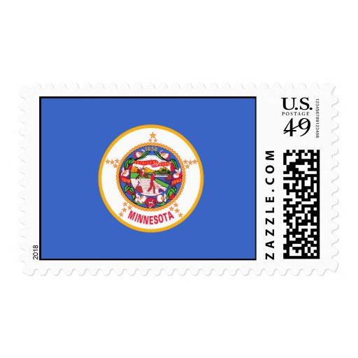 Bandera de Minnesota Sello
