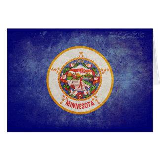 Bandera de Minnesota Tarjeta Pequeña