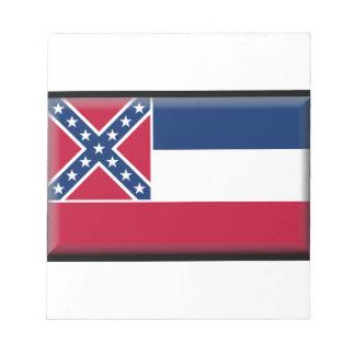 Bandera de Mississippi Libretas Para Notas