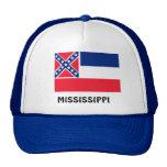 Bandera de Mississippi Gorras