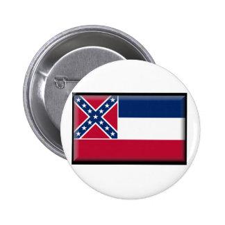 Bandera de Mississippi Pin