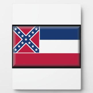 Bandera de Mississippi Placas Con Foto