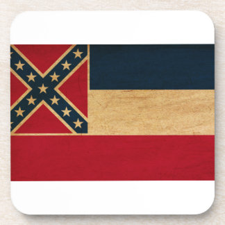Bandera de Mississippi Posavasos De Bebidas