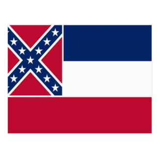 Bandera de Mississippi Postales