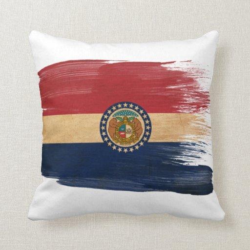 Bandera de Missouri Almohadas