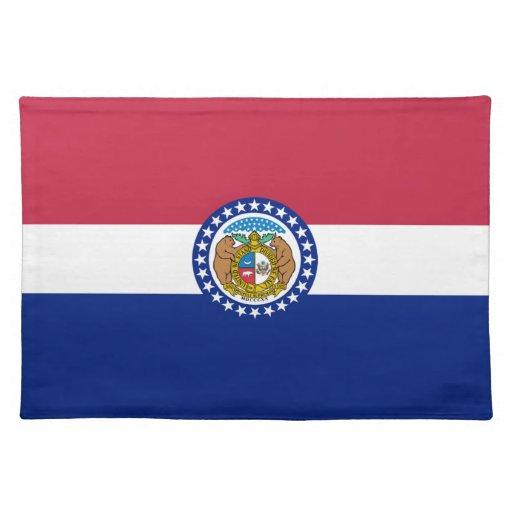 Bandera de Missouri Mantel Individual