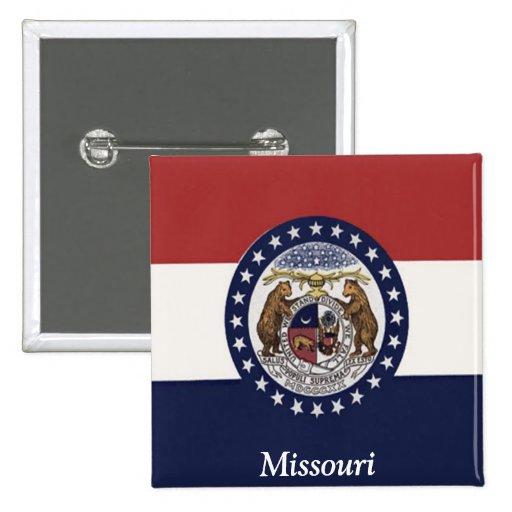 Bandera de Missouri Pins