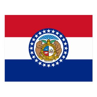 Bandera de Missouri Tarjetas Postales