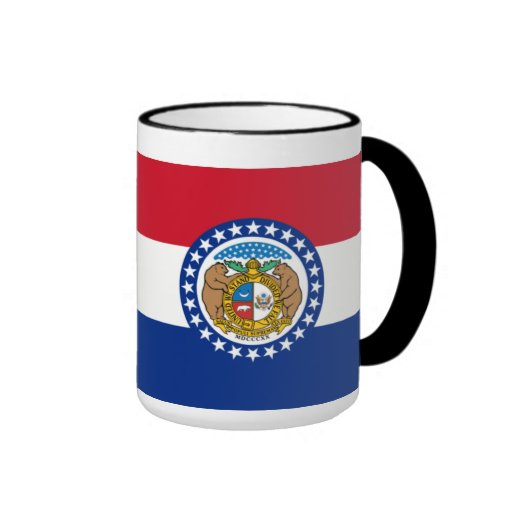 Bandera de Missouri Taza